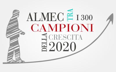 ALMEC TRA I 300 CAMPIONI DELLA CRESCITA 2020