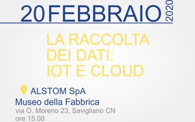 La raccolta dei dati: IOT e Cloud
