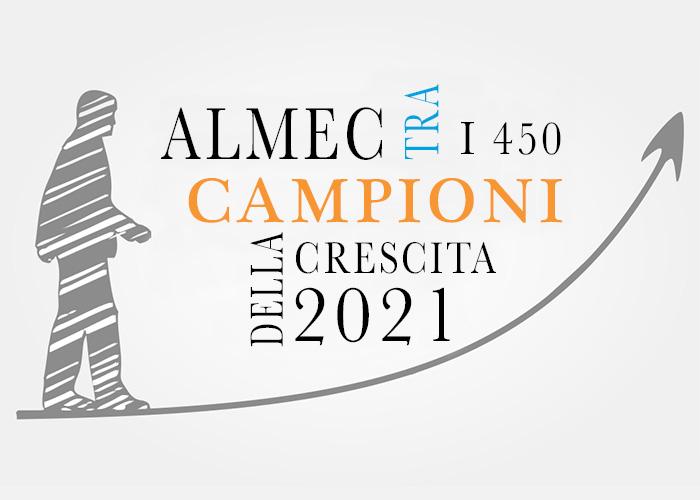 ALMEC TRA I 450 CAMPIONI DELLA CRESCITA 2021