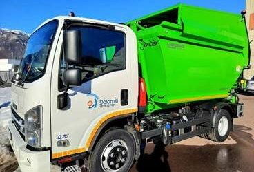 LADURNER WASTE COLLECTION VEHICLES FOR DOLOMITI AMBIENTE