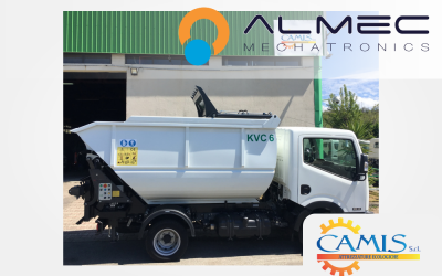 AUTOMATION SYSTEMS FOR CAMIS WASTE COLLECTING VEHICLES